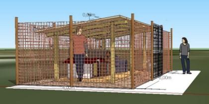 Palle di pelo un centro accoglienza che salver tante for Costruire un recinto per cani