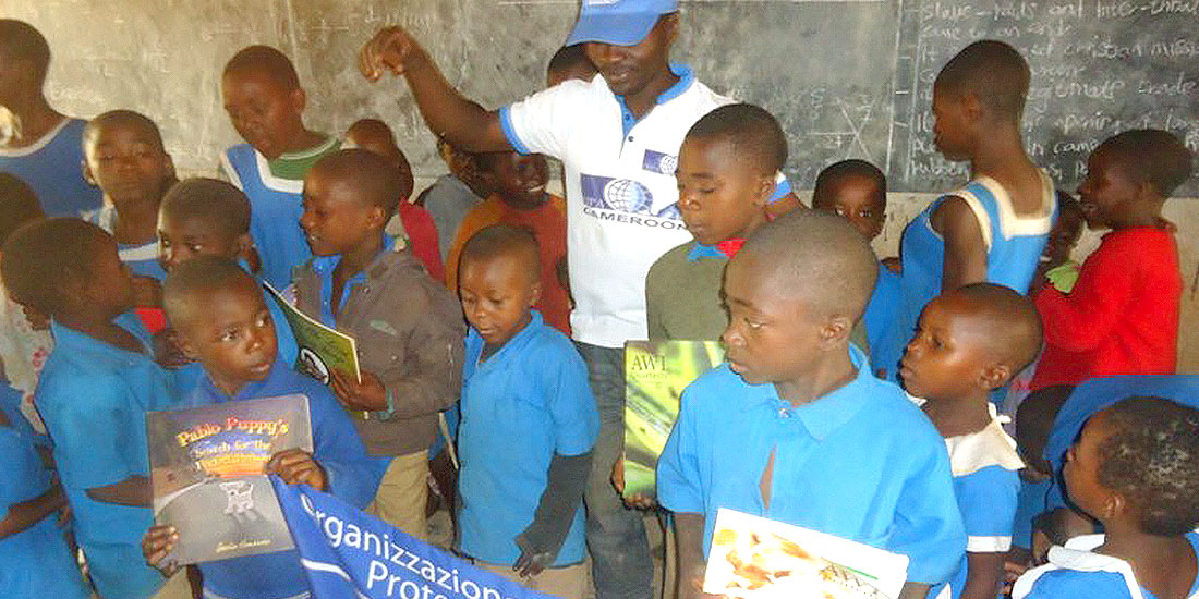 TESTIMONY FROM CAMEROON: BAMENDA, CAMEROON  OUR VOLUNTEERS VISITED A PRIMARY SCHOOL  IN NJIBI IN THE BAFUT SUB DIVISION