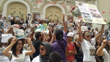 protest-against-killing-dogs-tunisia