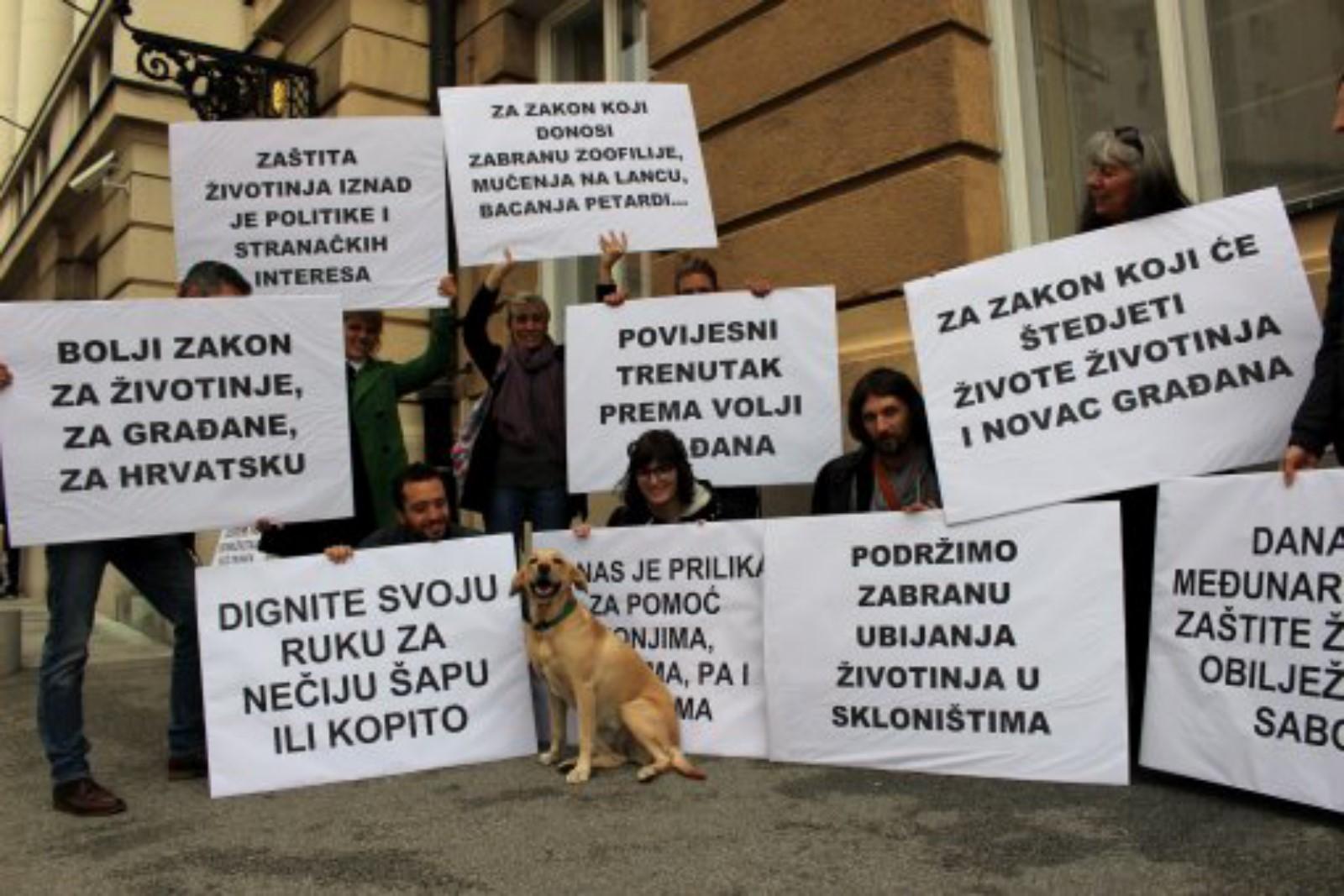 CROATIA – NEW ANIMAL PROTECTION ACT