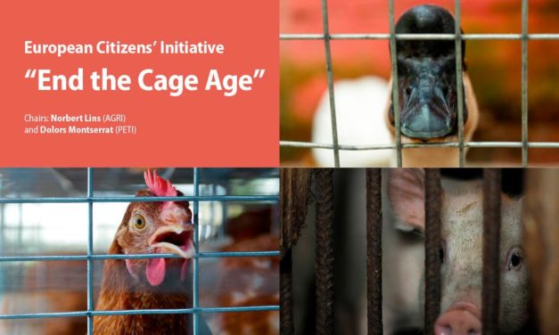 END THE CAGE AGE: A PUBLIC HEARING ON THE EUROPEAN CITIZIENS' INITIATIVE TO END KEEPING FARMED ANIMALS IN CAGES