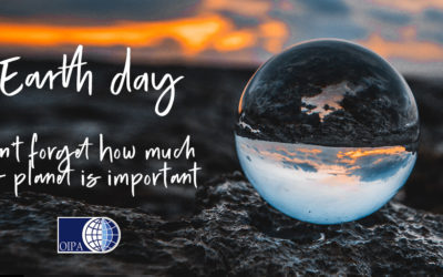 EARTH DAY 2021: AN OCCASION NOT TO FORGET HOW MUCH OUR PLANET IS IMPORTANT