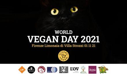 1 NOVEMBRE – FIRENZE: WORLD VEGAN DAY 2021
